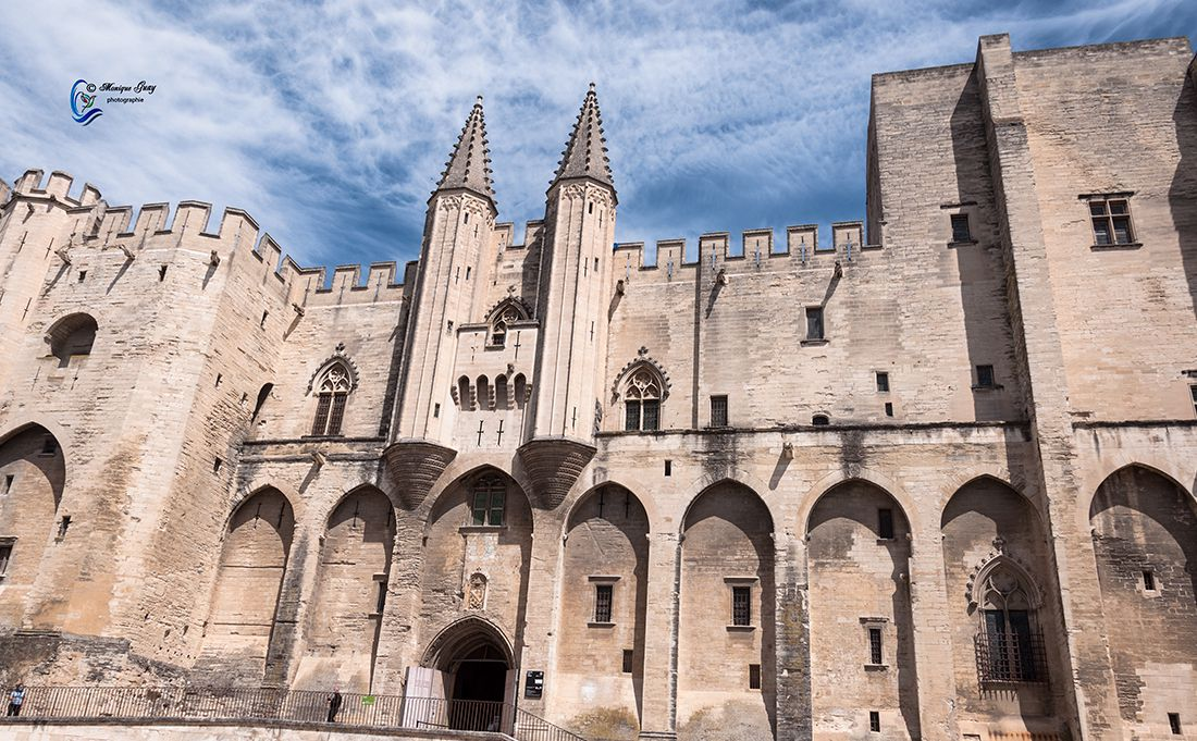 Palais des Papes à Avignon: SIX PHOTOS