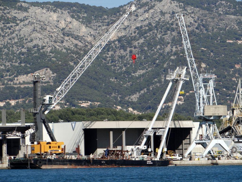 KINARD , barge de manutention
