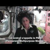 Laboratoires, toilettes, chambres à coucher... visite guidée de l'ISS
