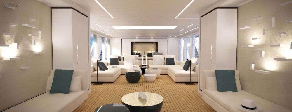Le chantier naval Couach dévoile un nouveau yacht hybride de 42 mètres