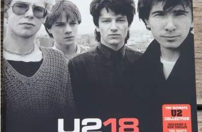 "Partitions guitare U2 ""18 singles"""