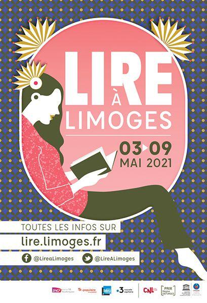 lire limoges affiche 2021 rainfolk