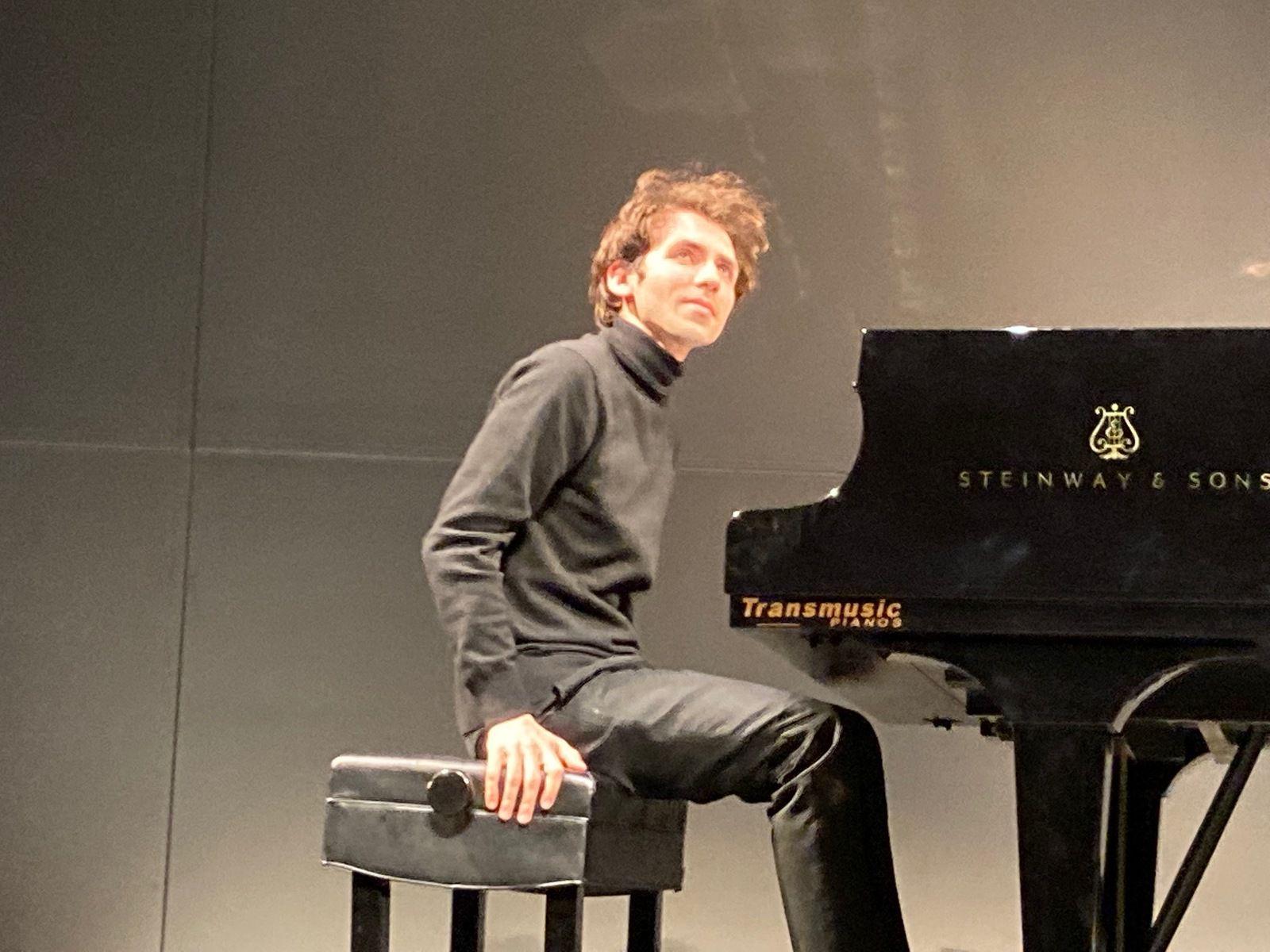Concert à Lyon d'un futur géant du piano, Alexandre Kantorov
