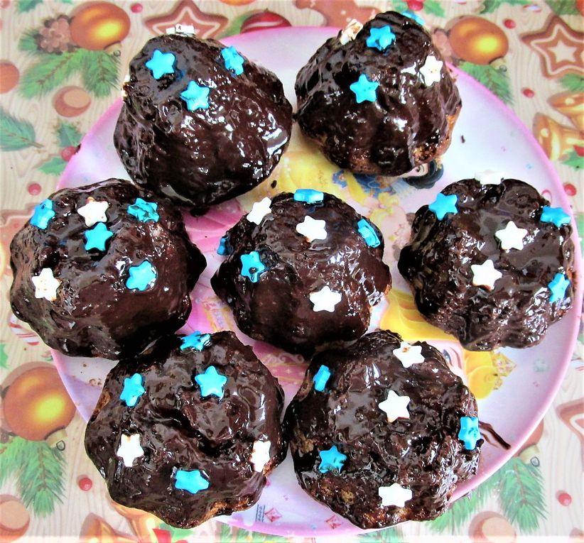 ~ Moelleux ~ Fruits rouges-chocolat noir ~ Diaporama ~
