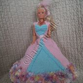 """tuto gratuit barbie: robe de princesse """"Cat debienne"""" - laramicelle"""