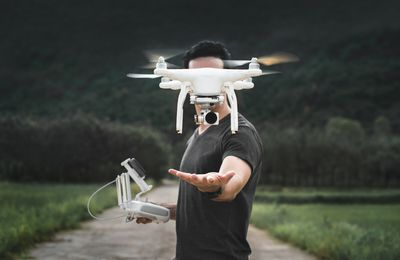 Docking With Your Drone Photography Equipment
