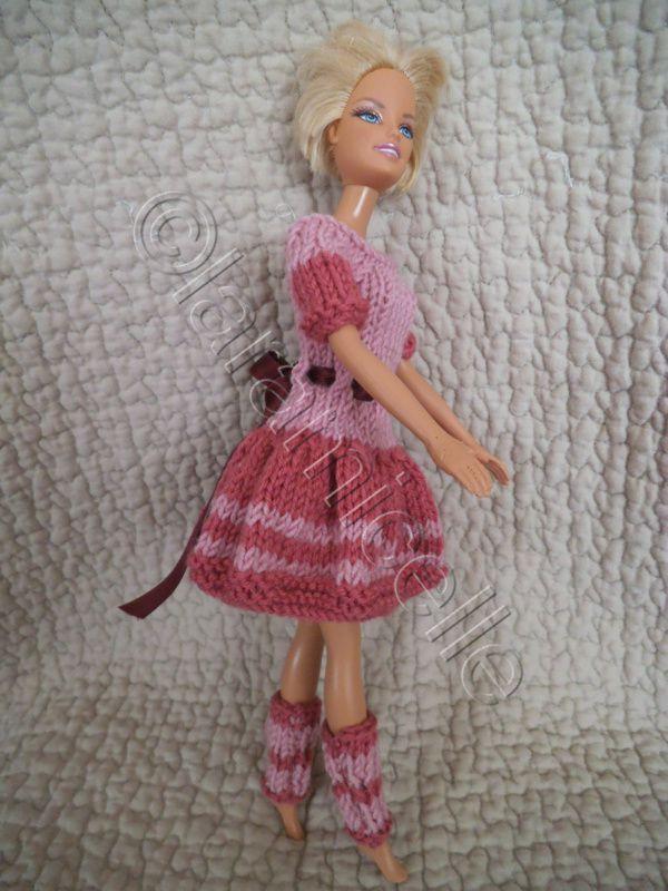 tuto  robe et guêtres pour barbie