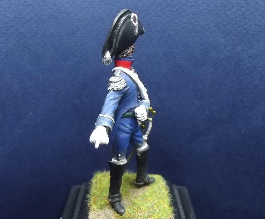 Le colonel Despans de Cubières commandant le 1er rgt d'infanterie légère à Hougoumont