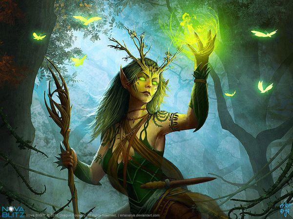 Archétype : le druide