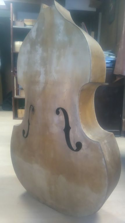 Restauration Contrebasse