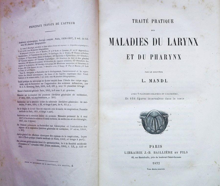 MANDL (Louis) (1812-1881).