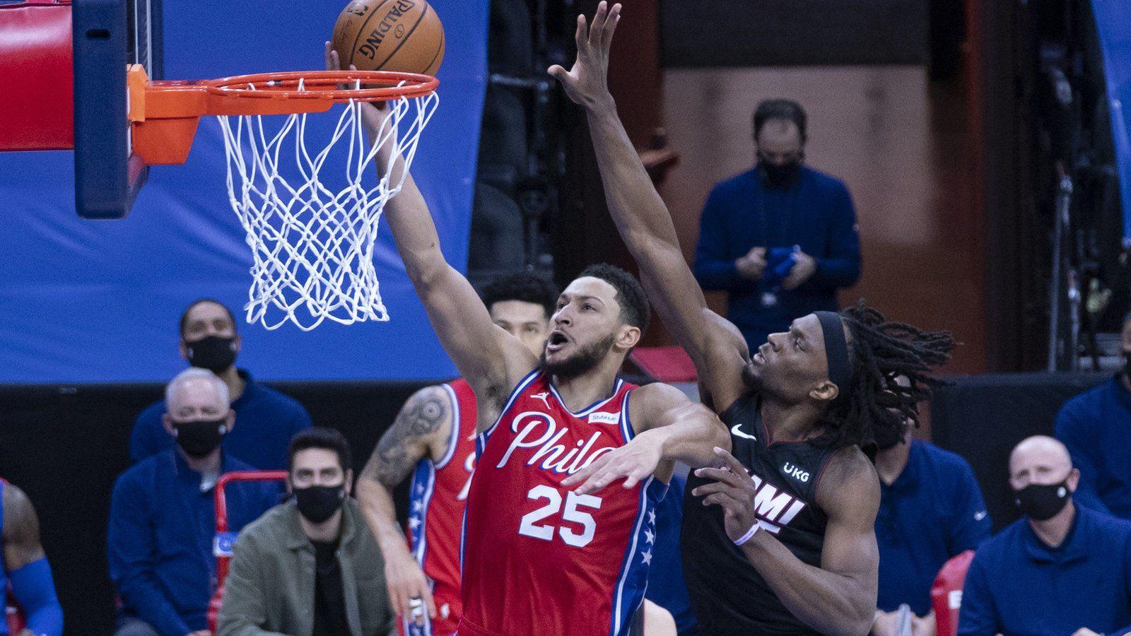 Philadelphie signe une neuvième victoire de la saison en dominant le Heat de Miami