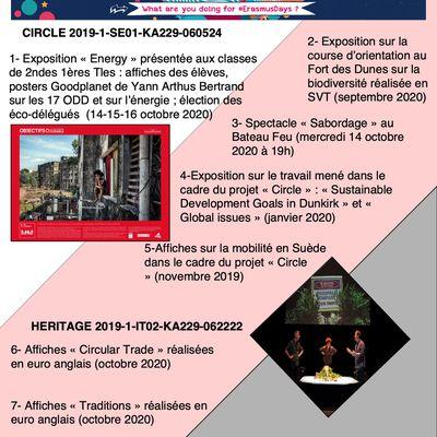 2020 Erasmus Days Lycée Jean Bart