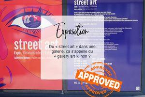 J'ai testé l'exposition Street Art à la Galerie de Rohan