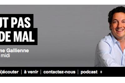 """""""Ca peut pas faire de mal !"""", émission et livres, Guillaume Gallienne"""