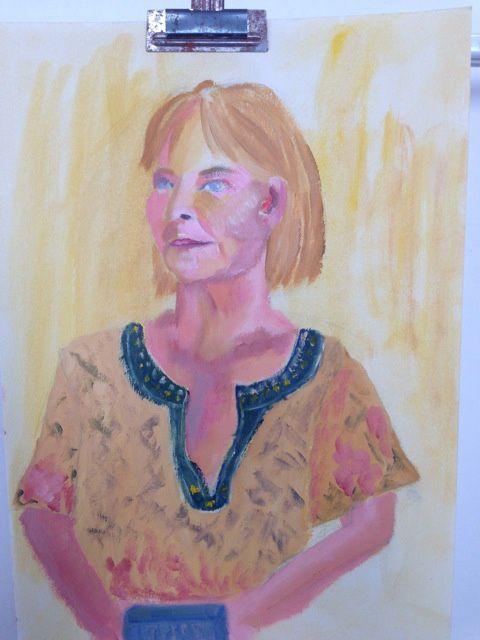 Photo de séances d'atelier portrait