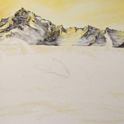 Etape 1 : Montagnes et lumière