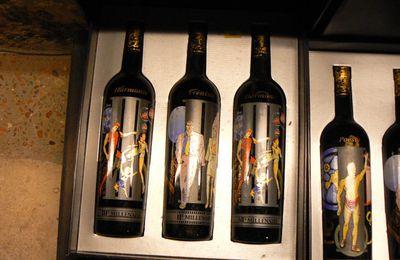 Vins en vente au musée du vin, Paris