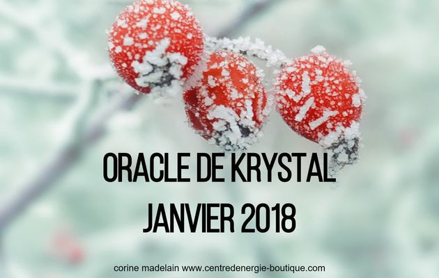 Guidance Janvier 2018 Oracle de Krystal