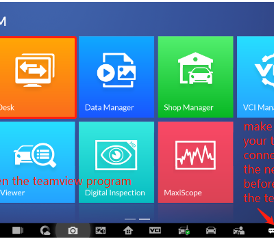 How to Set up TeamViewer Remote Support from Autel IM608?