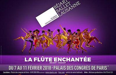 Le Béjart Ballet Lausanne revient au Palais des Congrès pour la Flûte Enchantée