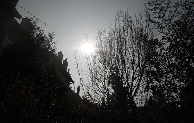 Si belle lumière d'éclipse.