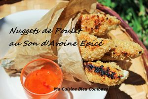 Nuggets de Poulet au Son d'Avoine Epicé