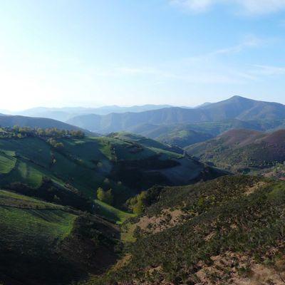 """j24 chemin de Compostelle """"Vega de Valcarce à Tricastella_34km"""""""