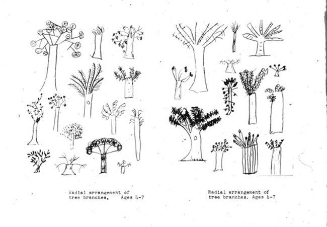 Motifs collectés par Rhoda Kellogg. Et certains clichéspris lors de mes séances Psychan'ArtS.