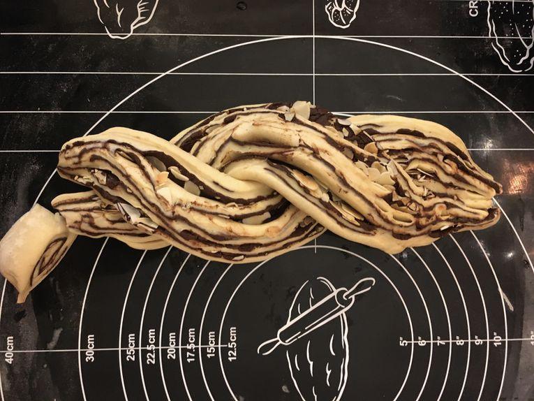 Le fameux Kranz au chocolat (ou à la cannelle) de Yotam Ottolenghi