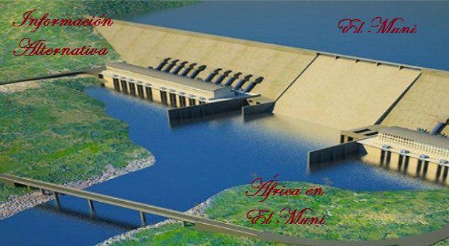 Imágenes de la presa etíope, el Gran Renacimiento, en construcción sobre el río Nilo.- El Muni.