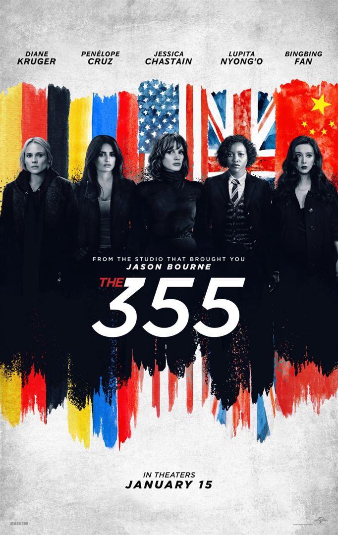 The 355 (TEASER) avec Jessica Chastain, Penélope Cruz, Diane Kruger - Le 13 janvier 2021 au cinéma