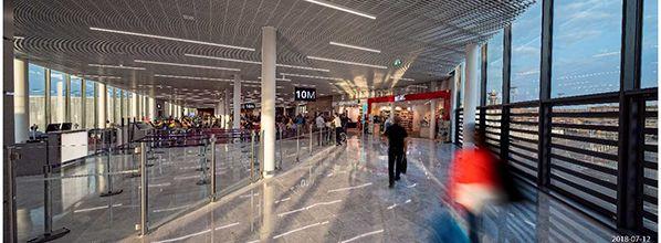Ouverture de l'extension du Hall 1 du terminal Ouest de l'aéroport Paris-Orly