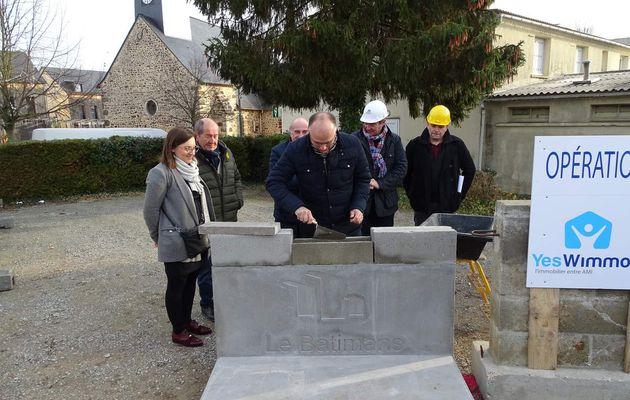 Pose la première pierre de la Résidence Le Mans Métropole Habitat à La Milesse