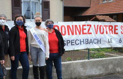 Miss Alsace apporte son soutien à la Collecte Automnale