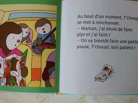 T'choupi dort chez papi et mamie, T'choupi fait du bateau, T'choupi part en vacances de Thierry Courtin