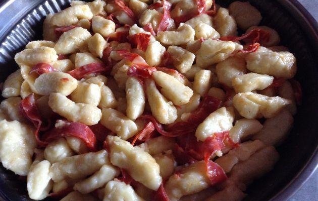 Gnocchis de pommes de terre au chorizo