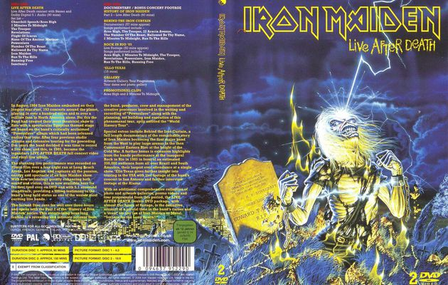IRON MAIDEN: Live After Death (1985/2008-DVD) Heavy-Metal
