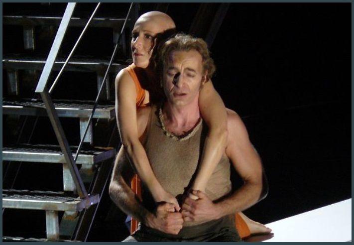 Monica Bacelli (Mélisande) et Dietrich Henschel (Golaud)