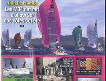 Expertise Océanis 361 Clipper - Article de presse Août 2014 - Voile & Tourisme n°3 - Languedoc-Roussillon