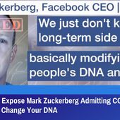 Leaked Video Expose Mark Zuckerberg Admitting COVID-19 Vaccines Will Change Your DNA | GreatGameIndia