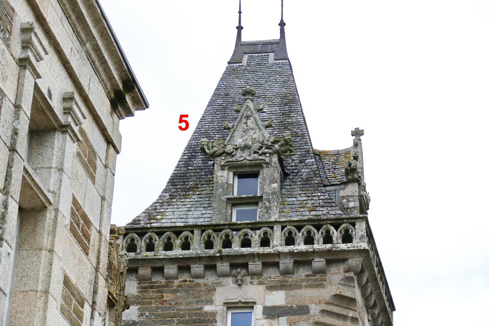 Château de Keruzoret en Plouvorn. Photographie lavieb-aile 2021.