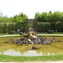 Le bosquet de l'Encelade à Versailles