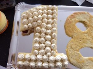 Number cake