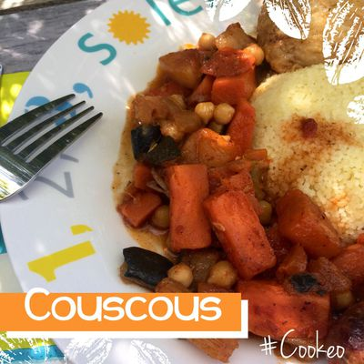 COUSCOUS ( AU COOKEO )