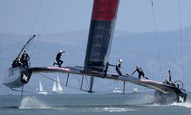L'America's Cup 2017 sur Canal+
