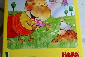 A quoi ils jouent? Petites chenilles multicolores HABA