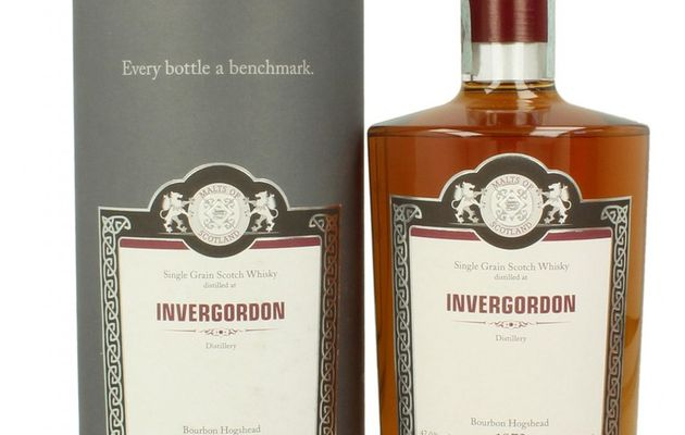 Invergordon 39Y: 1973/2012 Malt of Scotland.