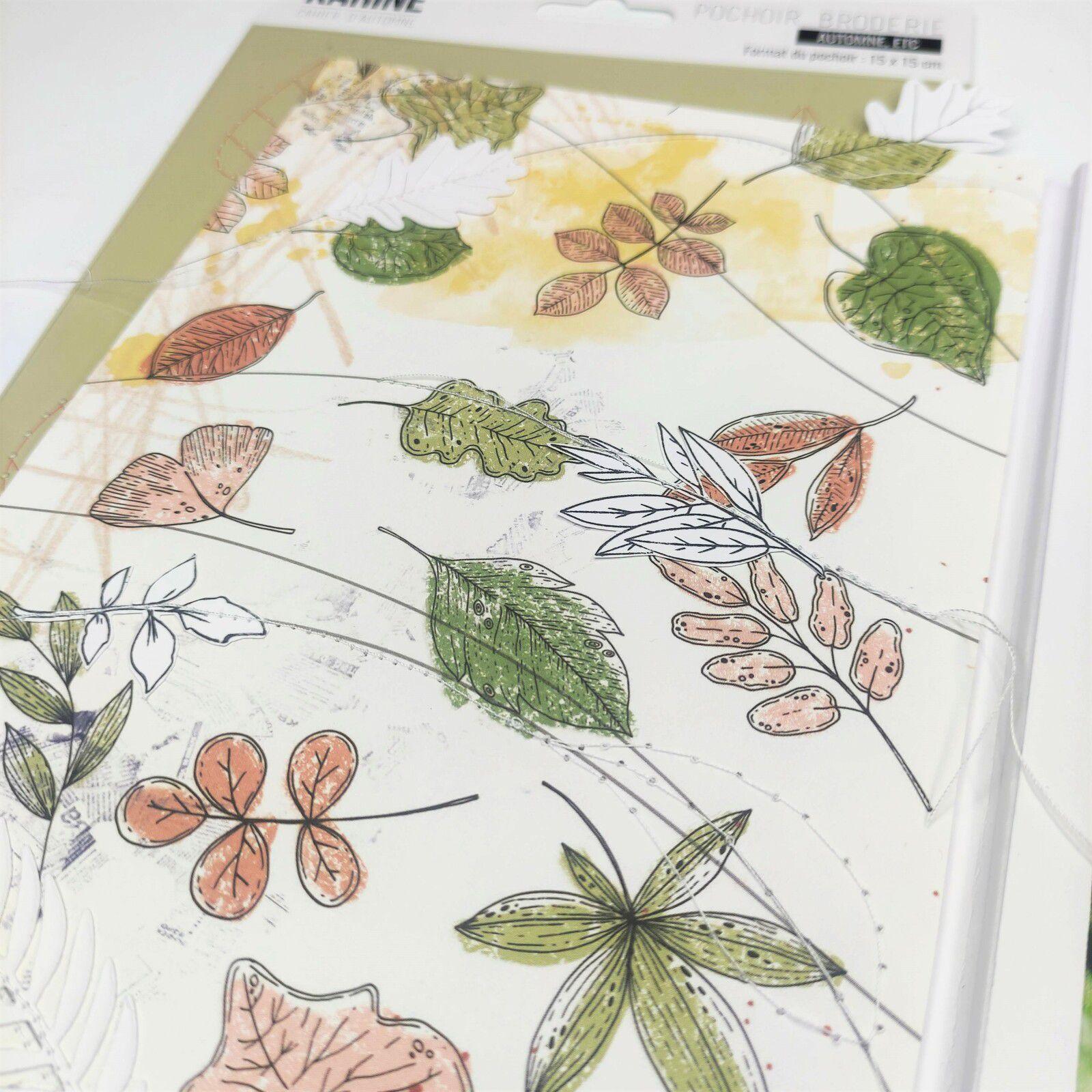 """Page 3 Album Scrap collection """"Cahier d'automne"""" Les Ateliers de Karine"""