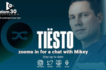 Tiësto interview vidéo | Random 30 Countdown with Mikey - february 26, 2021